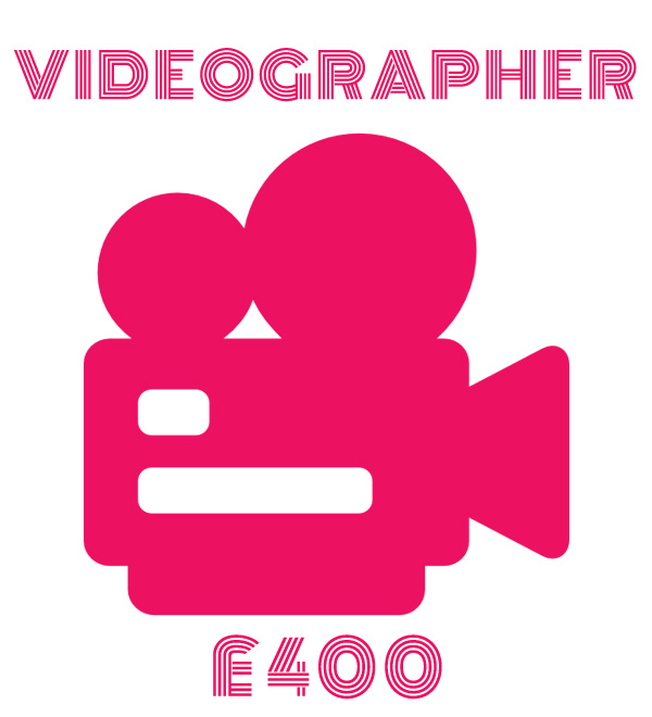 Event Videographer - £400